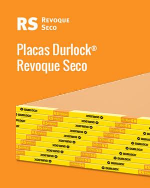 Placas Durlock® Revoque Seco