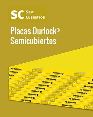 Placas Durlock® Semicubiertos
