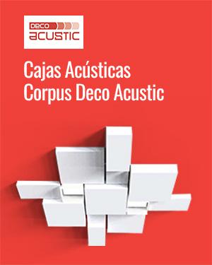 Cajas Acústicas Corpus Deco Acustic