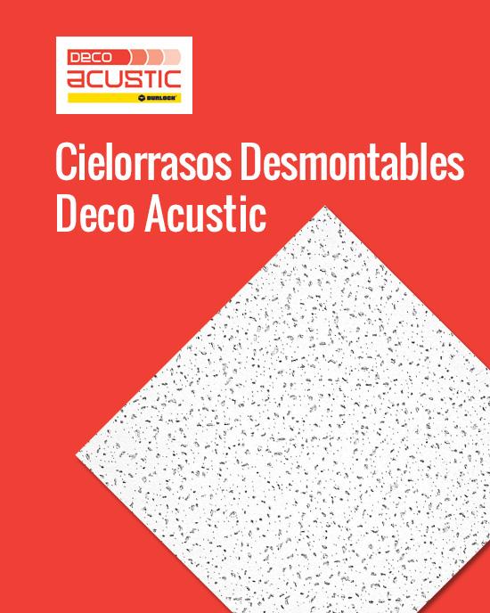 Cielorrasos Desmontables DecoAcustic