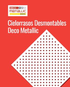 Cielorrasos Desmontables Deco Mettalic